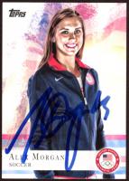 Alex Morgan Signed 2012 Topps U.S. Olympic Team #90 (JSA COA) at PristineAuction.com