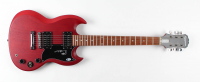 """Angus Young Signed Full-Size Electric Guitar Inscribed """"AC/DC"""" (Beckett COA) at PristineAuction.com"""