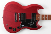 "Angus Young Signed Full-Size Electric Guitar Inscribed ""AC/DC"" (Beckett COA) at PristineAuction.com"