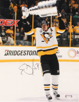 Evgeni Malkin Signed Penguins 11x14 Photo (PSA Hologram) at PristineAuction.com