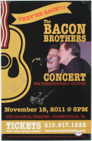 """Kevin Bacon & Michael Bacon Signed """"The Bacon Brothers"""" 11.25x17.25 Photo (PSA COA) at PristineAuction.com"""
