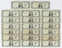 Lot of (20) 1957 $1 One-Dollar U.S. Silver Certificates at PristineAuction.com