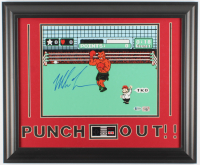 """Mike Tyson Signed """"Punch-Out!!"""" 19.5x23.5 Custom Framed Photo Display (Beckett COA & Fiterman Sports Hologram) at PristineAuction.com"""