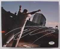 Tech N9ne Signed 8x10 Photo on Canvas (PSA COA) at PristineAuction.com