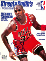 "Michael Jordan Signed ""Streets & Smith's"" Magazine (Beckett LOA) at PristineAuction.com"