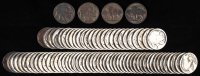 Lot of (100) Buffalo / Indian Head Nickles at PristineAuction.com