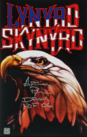 "Artimus Pyle Signed Lynyrd Skynyrd 11x17 Photo Inscribed ""Drums"" & ""HOF 06"" (Super Star COA) at PristineAuction.com"