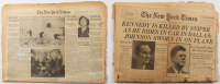 Original November 23, 1963 The New York Times Newspaper from the John F. Kennedy Assassination at PristineAuction.com