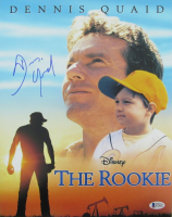 "Dennis Quaid Signed ""The Rookie"" 11x14 Photo (Beckett COA) at PristineAuction.com"