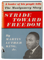 "Martin Luther King Jr. Signed ""Stride Toward Freedom"" Hardcover Book (PSA LOA) at PristineAuction.com"