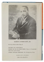 """Martin Luther King Jr. Signed """"Stride Toward Freedom"""" Hardcover Book (PSA LOA) at PristineAuction.com"""