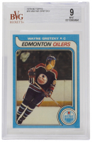 Wayne Gretzky 1979-80 Topps #18 RC (BVG 9) at PristineAuction.com