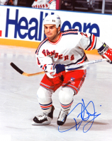 Tie Domi Signed Rangers 8x10 Photo (SportsCards SOA) at PristineAuction.com