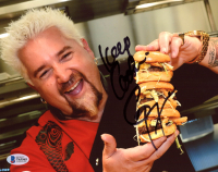 """Guy Fieri Signed 8x10 Photo Inscribed """"Keep Cookin'"""" (Beckett COA) at PristineAuction.com"""