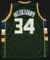 Giannis Antetokounmpo Signed Jersey (Beckett COA) at PristineAuction.com