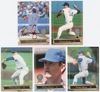 Complete Set of (5) Nolan Ryan 1993 Spectrum Ryan 5 Baseball Cards at PristineAuction.com