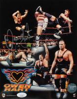 Owen Hart Signed WWE 8x10 Photo (JSA COA) at PristineAuction.com