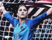 Hope Solo Signed USA Women's Soccer 8x10 Photo (JSA COA) at PristineAuction.com