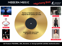 Modern Music Signed 8x10 Photo Mystery Box Featuring a Musician Signed Photograph in Each Pack at PristineAuction.com