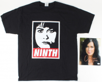 "Chyna Signed 8x10 Photo Inscribed ""XXOO"" with Commemorative ""Ninth Wonder of the World"" T-Shirt (JSA COA) at PristineAuction.com"