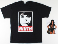 "Chyna Signed 8x10 Photo with Commemorative ""Ninth Wonder of the World"" T-Shirt (JSA COA) at PristineAuction.com"