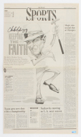 """Chi-Chi Rodriguez Signed 1996 """"The Herald"""" Newspaper (Palm Beach COA) at PristineAuction.com"""