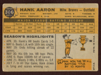 Hank Aaron 1960 Topps #300 at PristineAuction.com