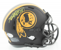 Adrian Peterson Signed Redskins Eclipse Alternate Speed Mini Helmet (Beckett COA) at PristineAuction.com