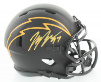 Joey Bosa Signed Chargers Eclipse Alternate Speed Mini Helmet (Beckett COA) at PristineAuction.com