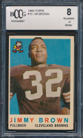 Jim Brown 1959 Topps #10 (BCCG 8) at PristineAuction.com