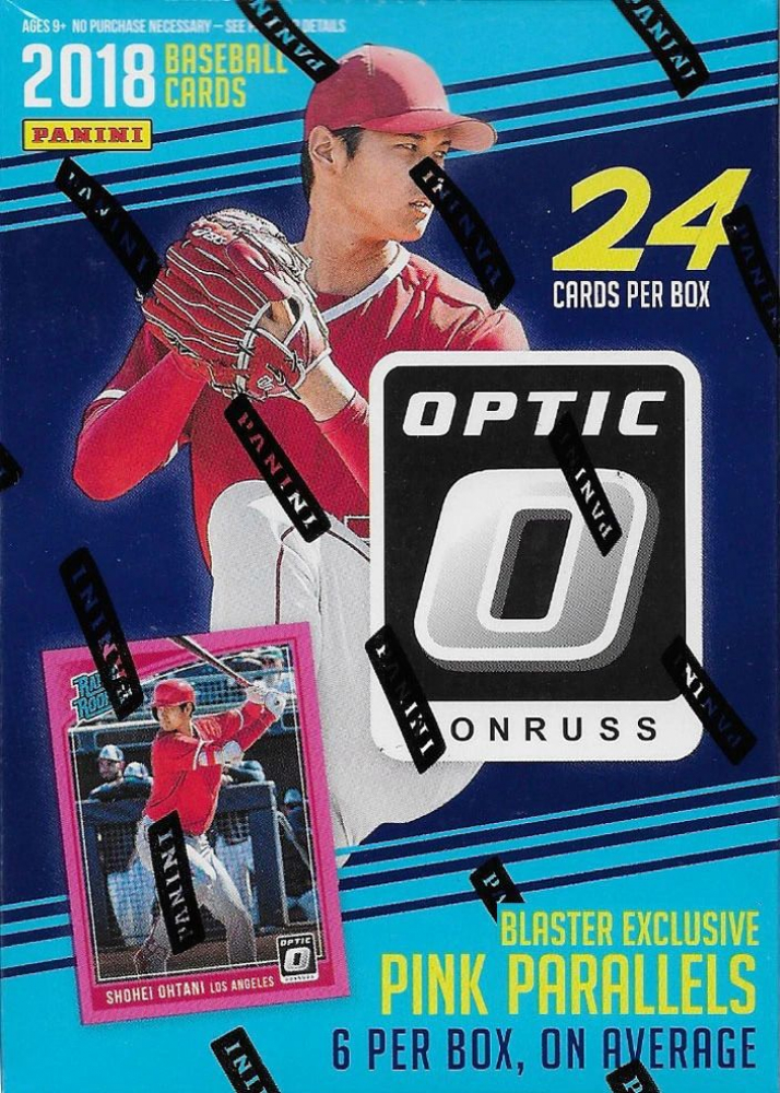 2018 Donruss Optic Baseball Blaster Box with (6) Packs at PristineAuction.com