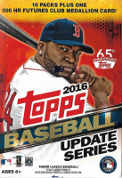 2016 Topps Baseball Traded Update Blaster Box with (10) Packs at PristineAuction.com