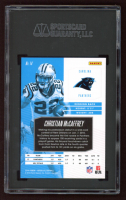 Christian McCaffrey 2018 Absolute Spectrum Blue #14 (SGC 10) at PristineAuction.com