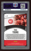 Trae Young 2019-20 Panini Prizm Dominance Prizms Green #25 (PSA 10) at PristineAuction.com