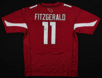 Larry Fitzgerald Signed Cardinals Jersey (PSA Hologram) at PristineAuction.com