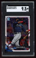 Ronald Acuna Jr. 2018 Bowman Chrome #40 RC (SGC 9.5) at PristineAuction.com