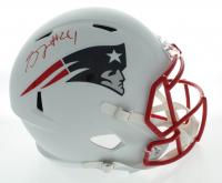 Stephon Gilmore Signed Patriots Full-Size Matte White Speed Helmet (PSA COA) at PristineAuction.com