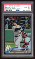Aaron Judge 2018 Topps Chrome #1 (PSA 10) at PristineAuction.com