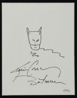 "Kevin Conroy Signed ""Batman"" 11x14 Canvas Inscribed ""Batman"" with Hand-Drawn Sketch (PSA Hologram) at PristineAuction.com"