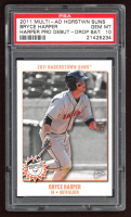 Bryce Harper 2011 Hagerstown Suns Bryce Harper Multi-Ad #2 (PSA 10) at PristineAuction.com