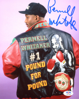 Pernell Whitaker Signed 8x10 Photo (PSA COA) at PristineAuction.com