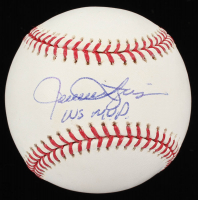 "Rollie Fingers Signed OML Baseball Inscribed ""WS MVP"" (Beckett Hologram) at PristineAuction.com"