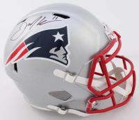 Julian Edelman Signed Patriots Full-Size Speed Helmet (Beckett COA) at PristineAuction.com