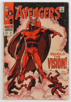 1968 The Avengers Issue #57 Marvel Comic Book at PristineAuction.com