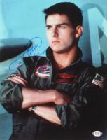 "Tom Cruise Signed ""Top Gun"" 11x14 Photo (PSA COA) at PristineAuction.com"