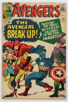 "1964 ""The Avengers"" Issue #10 Marvel Comic Book at PristineAuction.com"