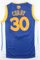 Stephen Curry Signed Warriors Jersey (PSA Hologram) at PristineAuction.com