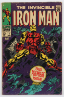 """1968 """"The Invincible Iron Man"""" Issue #1 Marvel Comic Book at PristineAuction.com"""