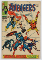 """1968 """"The Avengers"""" Issue #58 Marvel Comic Book at PristineAuction.com"""