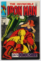 """1968 """"The Invincible Iron Man"""" Issue #2 Marvel Comic Book at PristineAuction.com"""